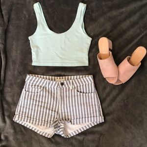 Pants - Stripped shorts